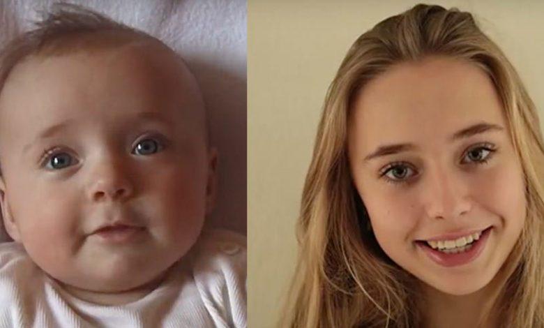 Bir Baba Kızını 14 Yıl Boyunca Fotoğrafladı