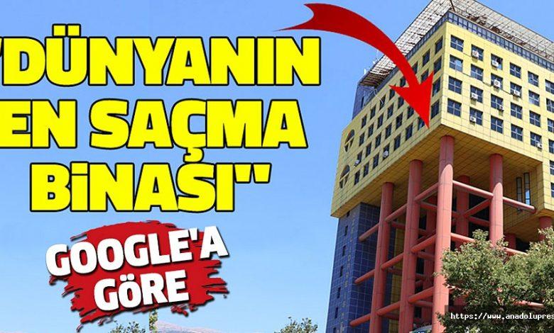 Google'a Göre Dünyanın En Saçma Binası