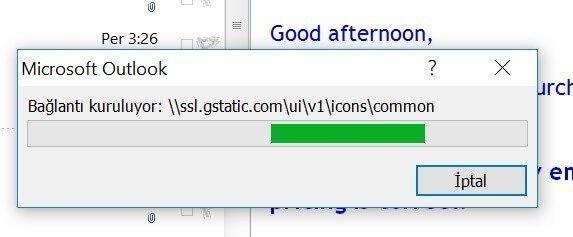 Outlook Bağlantı Kuruluyor: \\ssl.gstatik.com\ui\v1\ icons\common