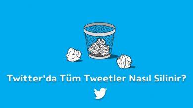 Photo of Twitter tweetleri ve retweetlerini toplu olarak silme