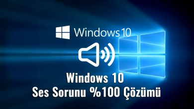 Photo of Windows 10 Ses Sorunu Çözümü